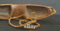 RARE Antique Yupik Eskimo Inuit Artifact Alaska, Alaskan, c1800 Snow Goggles