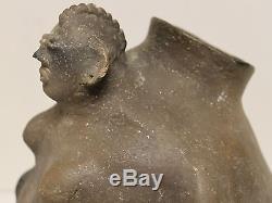 Rare Mississipian Pottery Effigy Vessel Circa 1300 Ad No Reserve