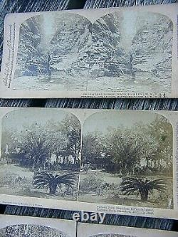 Rare Stereoview Image American, And Native American Etc