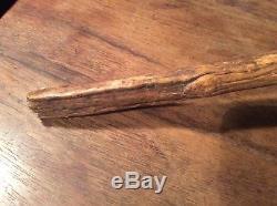 Rare native american indian stone axe, 19th century