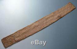 Stunning American Indian Ojibwe beaded belt