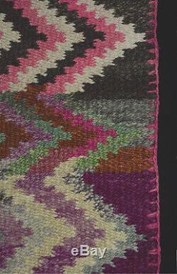TEXTILE ART MASTERPIECE ANTIQUE BLANKET Aymara Indian Superb Condition TM12958