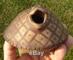 Turtle-effigy Rattle/pot, Sacred Anazazi Painted Pottery, Southwestern Colorado