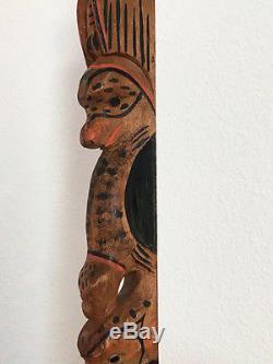 Tall Tlingit Totem Pole, Northwest Coast Indian, Finely Carved, Beautiful Patina