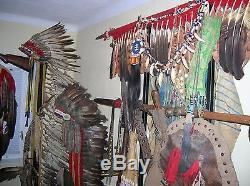 UTMOST RARITY Antique Centenary Northern Cheyenne War Chief Lance Indian Wars