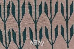 VTG native american textile weaving Navajo indian rug 27x22 antique Pictorial