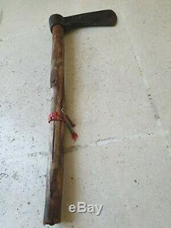 Very Rare Antique (massive) Sioux Tomahawk, 18th to 19th century Indian Wars