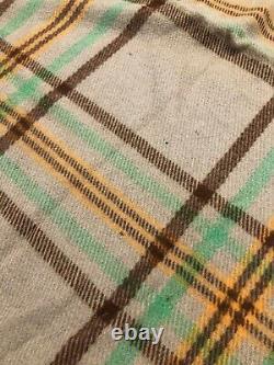 Vintage 1920s 1930s Pendleton Cayuse Indian Native American Wool Blanket 57 61