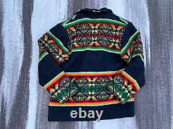Vintage 1970s Designer Jacket Sharon Smith Santa Fe Western Native American