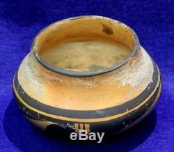 Vintage Antique Circa 1890 1930 Arizona Hopi Indian Bowl Pottery