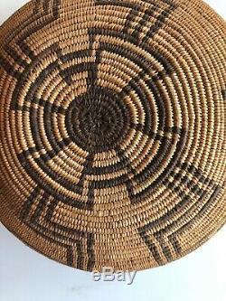 Vintage Apache Indian Basket Bowl