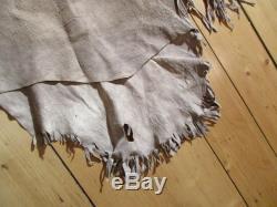 Vintage Native American Beaded Leather Shirt, Fringed Shirt, Item Du-00037