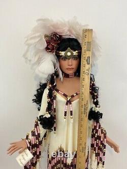 Vintage Rustie 36 Doll Native American special edition Desert Rose