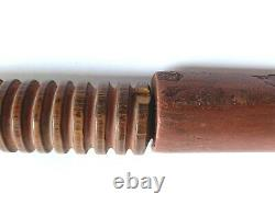Vintage/antique Native American Plains/sioux Catlinite Peace Pipe 23 Length