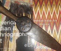Wonderful Museum Quality Antique Tomahawk Dagplains Indian