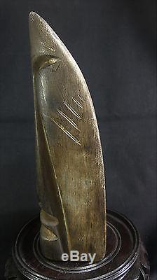 X-RARE Pacific Northwest Coast Antique Shaman Indian Spirit Guide Carving! AACA